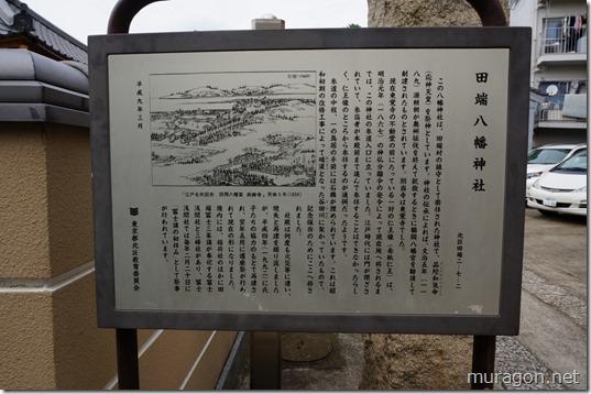 田端八幡神社 説明板