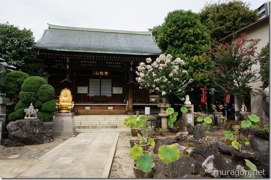 東覚寺(東京都北区田端)