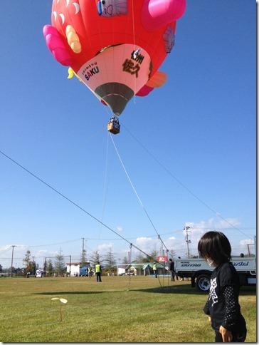 ブーメラン竹とんぼと熱気球