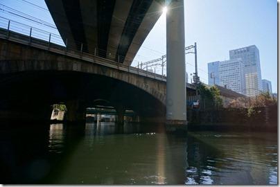 JRの橋 東京駅ー神田川間