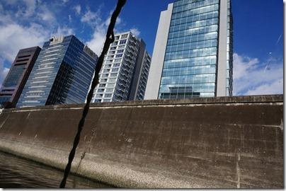 神田川からみるビル