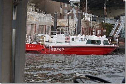 東京消防庁の船