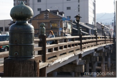 上の橋の擬宝珠