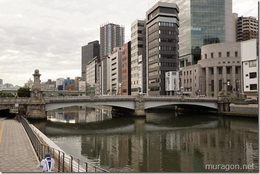 難波橋(なにわばし) 通称:ライオン橋