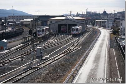 三陸鉄道車両基地