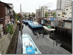 品川浦の舟だまり
