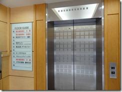 本殿に通じるエレベーター