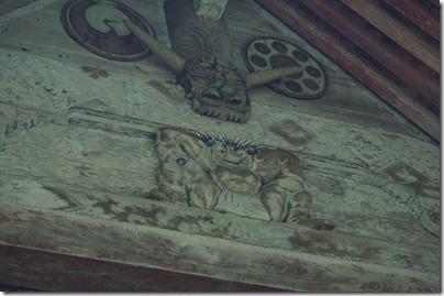 彫刻と家紋