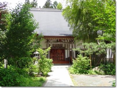 正音寺本堂