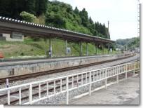 千厩駅ホーム