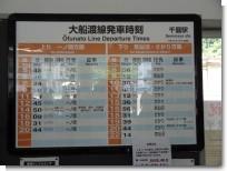 千厩駅 時刻表